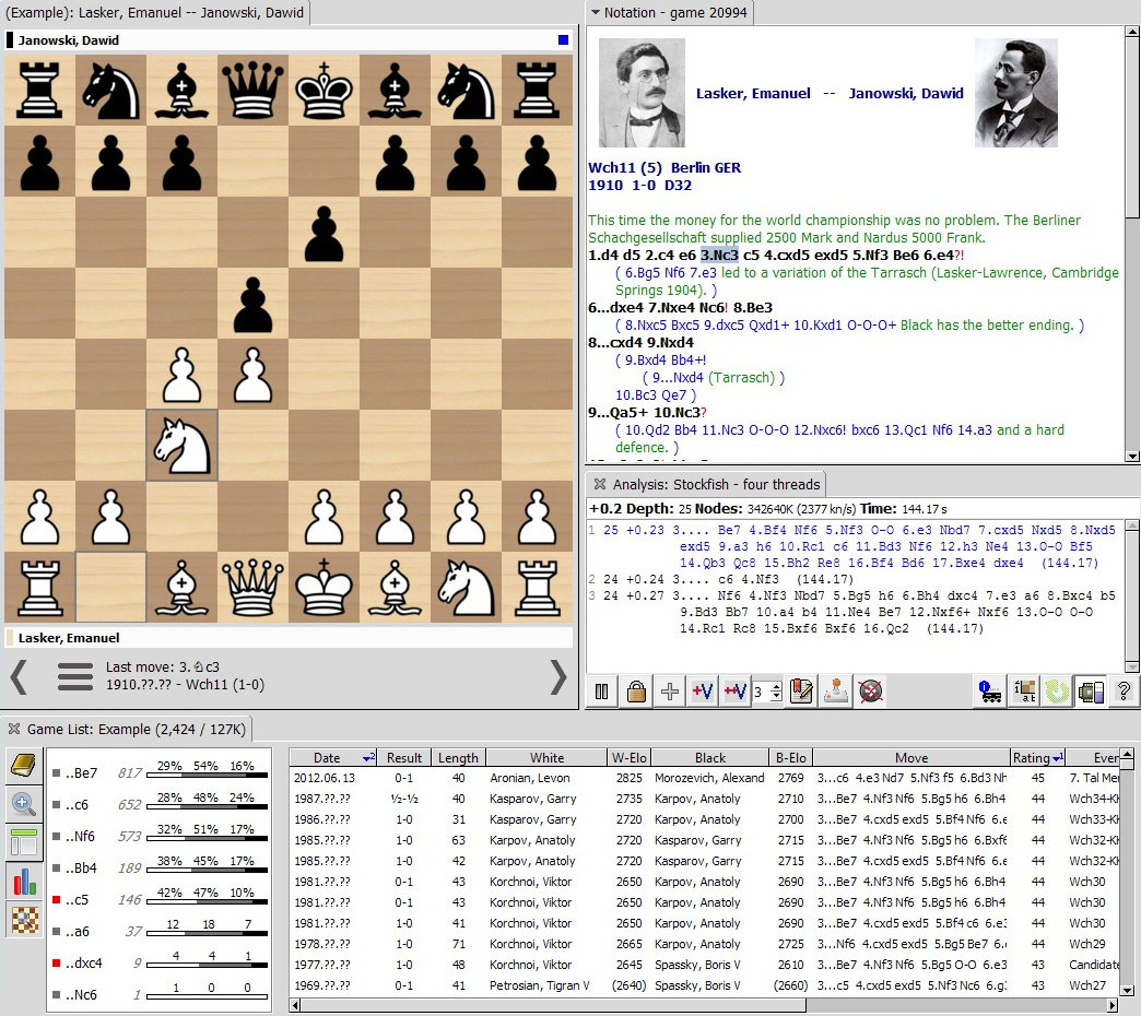 Scid - Chess Database Software